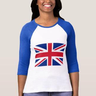 Camisas dos produtos e do T de Union Jack