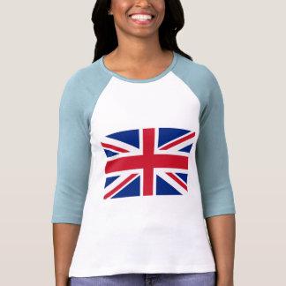 Camisas dos produtos e do T de Union Jack Tshirts