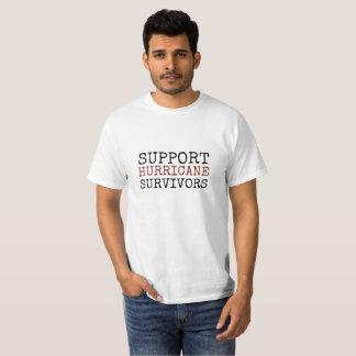 Camisas e jaquetas dos sobreviventes do furacão do