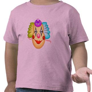 Camisas e presentes do palhaço de circo T do miúdo Camisetas