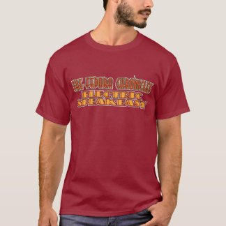 Camisas elétricas da cor do Speakeasy