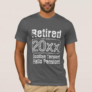 Camisas engraçadas da aposentadoria t do vintage