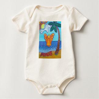 Camisas feitas sob encomenda da arte do anjo macacãozinho para bebê