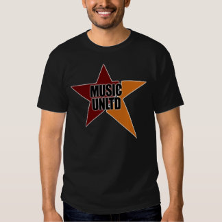 Camisas ilimitadas do logotipo da música t-shirts