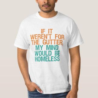 Camisas & jaquetas da mente da calha