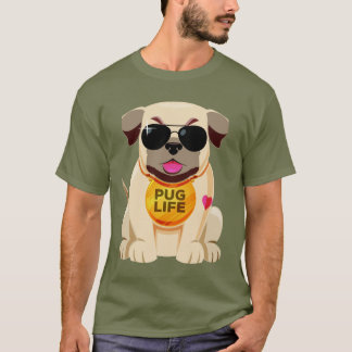 Camisas & jaquetas da vida do Pug