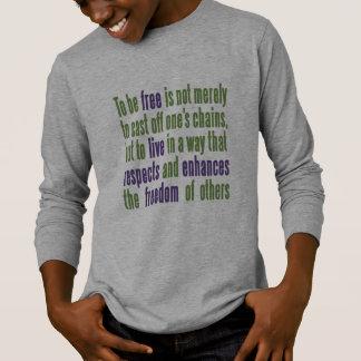 Camisas & jaquetas das citações da liberdade