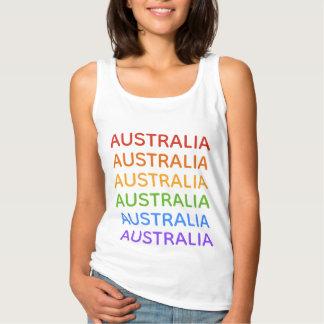 Camisas & jaquetas de Austrália do arco-íris