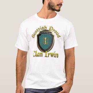 Camisas orgulhosas escocesas de Irwin do clã
