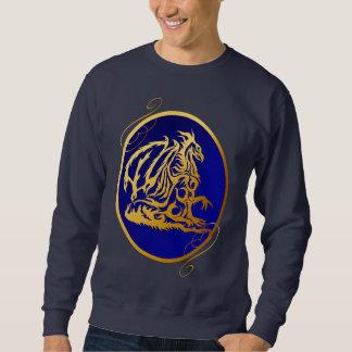 Camisas ovais do dragão 2 do ouro