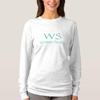 Camisas & partes superiores fortes da mulher de