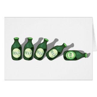 Camisas & presentes irlandeses dos bebedores de cartão comemorativo