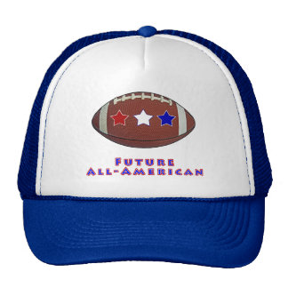 Camisas Todo-Americanas futuras do futebol para mi Bone