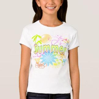 Camisas tropicais do verão camisetas