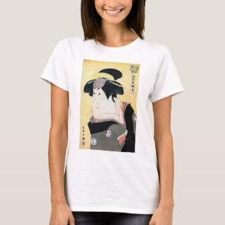 Camiseta 江戸の歌舞伎役者, atores de Edo Kabuki do 写楽, Sharaku,