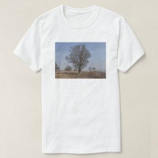 CAMISETA 湖岸の木々