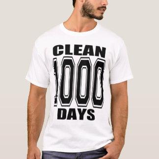CAMISETA 1000 DIAS LIMPAM!!
