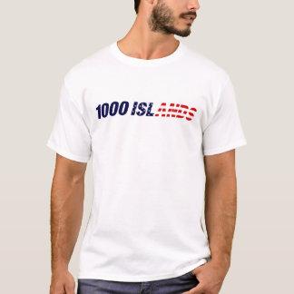 Camiseta 1000 ilhas EUA