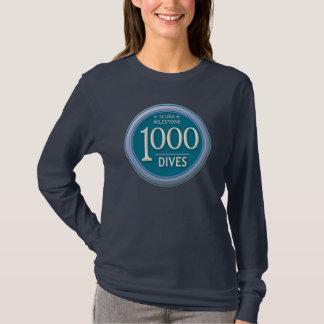Camiseta 1000 mergulhos