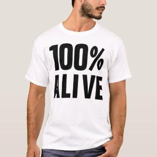 Camiseta 100% 100% vivo sim
