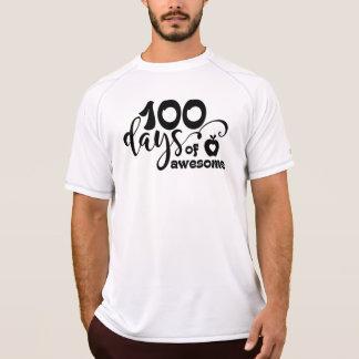 Camiseta 100 dias de impressionante, 100 dias da escola