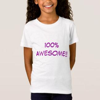 Camiseta 100% impressionante