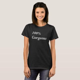 Camiseta 100% t-shirt lindos do impressão do texto