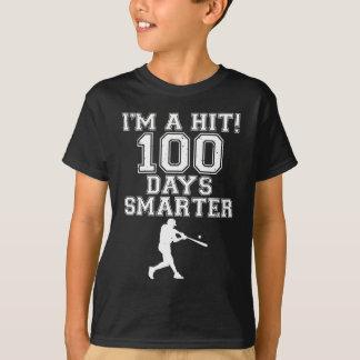 Camiseta 100th Dia da escola