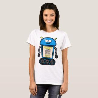 Camiseta 100th dia feliz do binário da escola