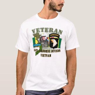 Camiseta 101st Div transportados por via aérea - Vietnam