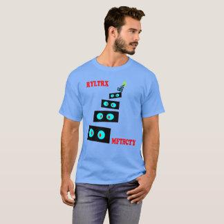 Camiseta 10' 000 olhares fixos curvados