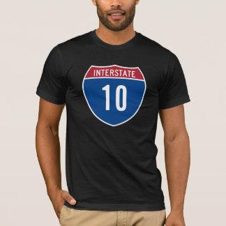 Camiseta 10 de um estado a outro