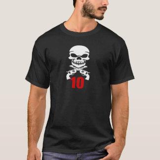Camiseta 10 designs do aniversário