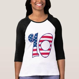 Camiseta 10 idade EUA
