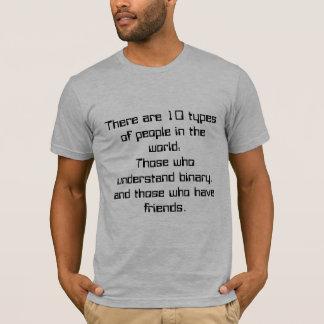 Camiseta 10 tipos de pessoas