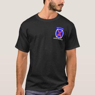 Camiseta 10o Divisão da montanha