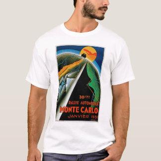 Camiseta 10o Reunião de Monte - Carlo do automóvel