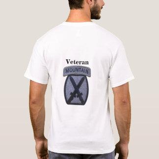 Camiseta 10o Veterinários dos veteranos da divisão da