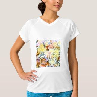 Camiseta 1117 floral macio