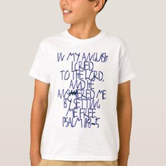 Camiseta 118:5 do salmo