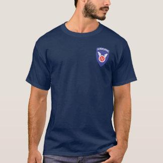 Camiseta 11o Transportado por via aérea + 511th DUI/Para