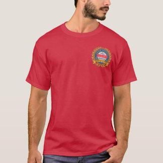 Camiseta 135th O t-shirt escuro dos homens do aniversário