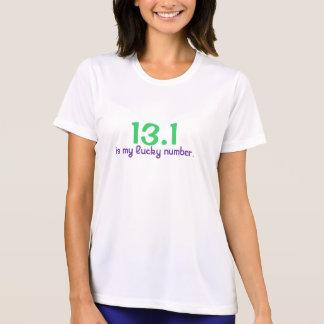 Camiseta 13,1, são meu número afortunado
