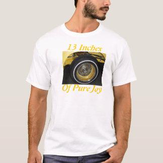 Camiseta 13 polegadas da alegria pura