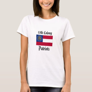 Camiseta 13o Patriotas da colônia - mulheres cabidas