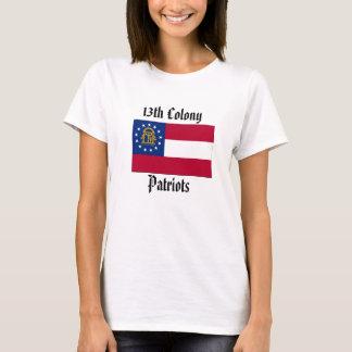 Camiseta 13o Patriotas da colônia - senhoras cabidas