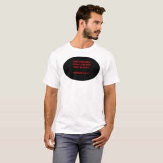 Camiseta 14:14 bíblico do êxodo do verso
