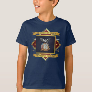 Camiseta 14o Infantaria voluntária de Connecticut