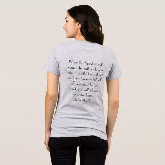 Camiseta 16:13 verdadeiro de John da lógica do deus