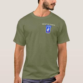Camiseta 173RD PULO TRANSPORTADO POR VIA AÉREA Do T-SHIRT